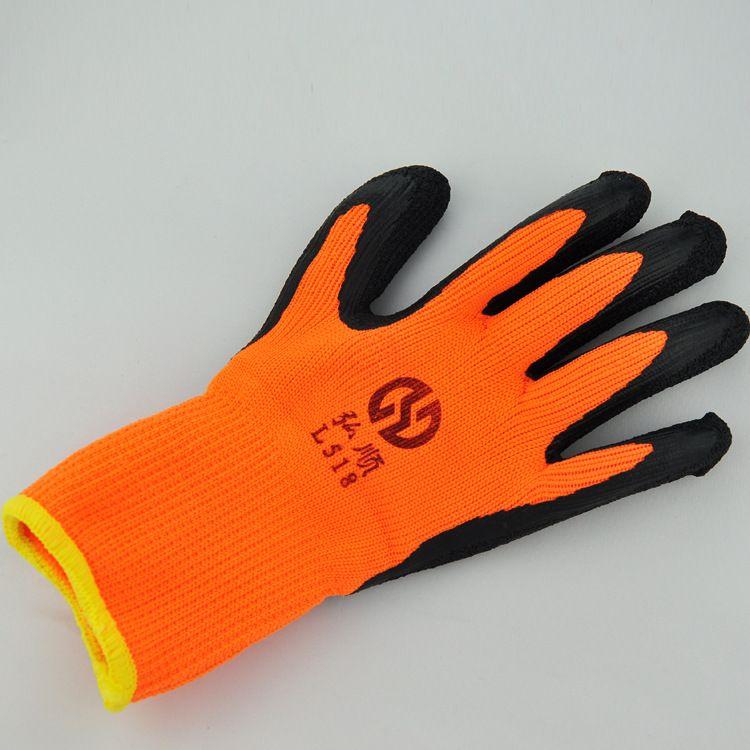 耐磨耐用棉纱手套 耐磨舒适劳保手套 建筑工人手套批发厂家