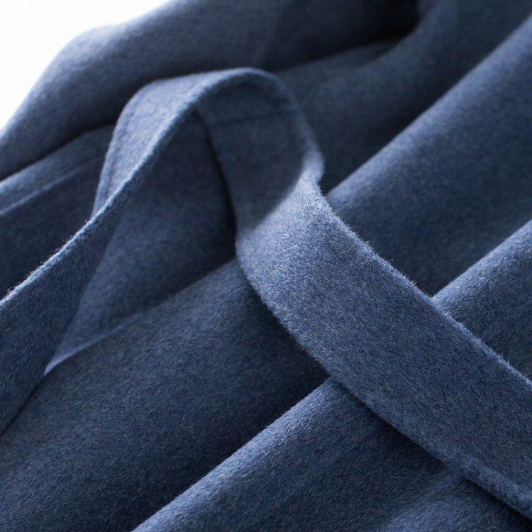 2018款双面呢羊毛大衣以优质的品质回馈客户价格美丽欢迎来电洽谈