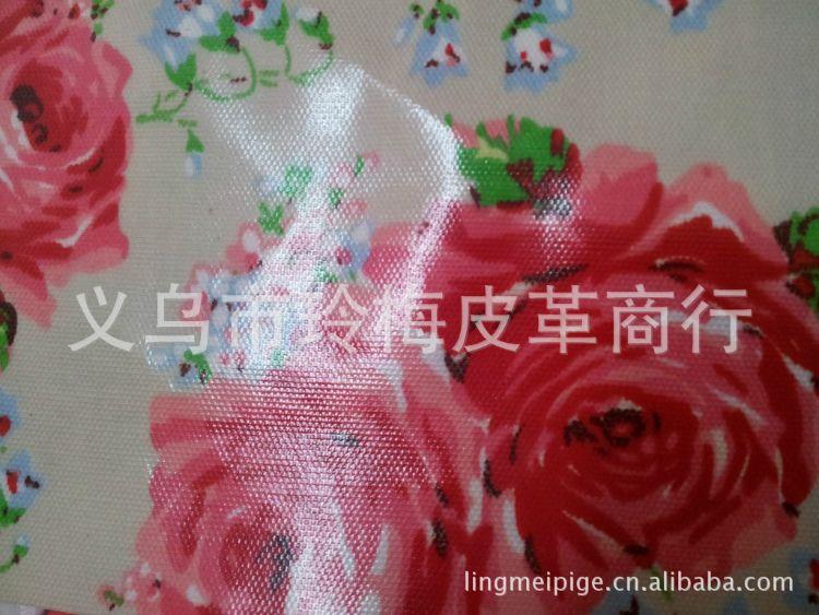批发供应 棉纱平布,帆布 印花,复合pvc膜 箱包面料