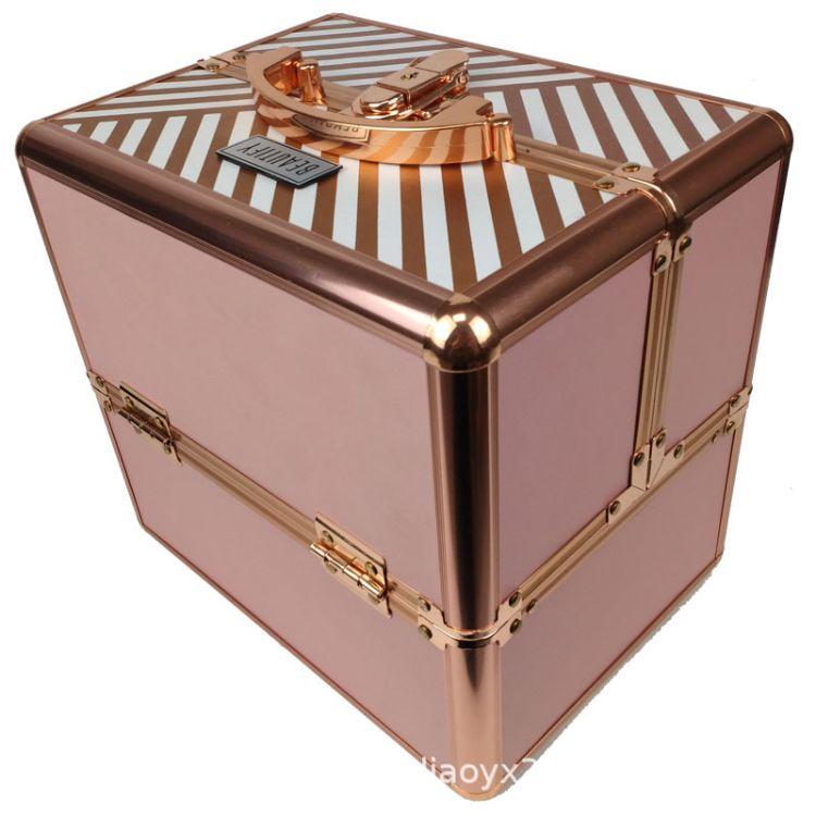 工厂直销 外贸铝箱 化妆箱 收纳箱 便携式首饰箱