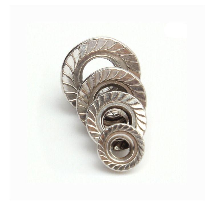 厂家直销 六角镀锌法兰螺母 六角法兰面螺母 国标细牙法兰螺母