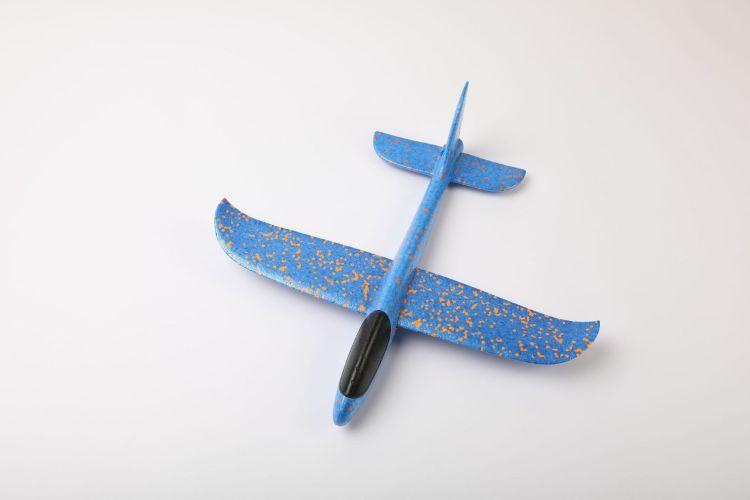 现货批发泡沫飞机升级版超轻手掷手抛航模儿童投掷滑翔机户外亲子