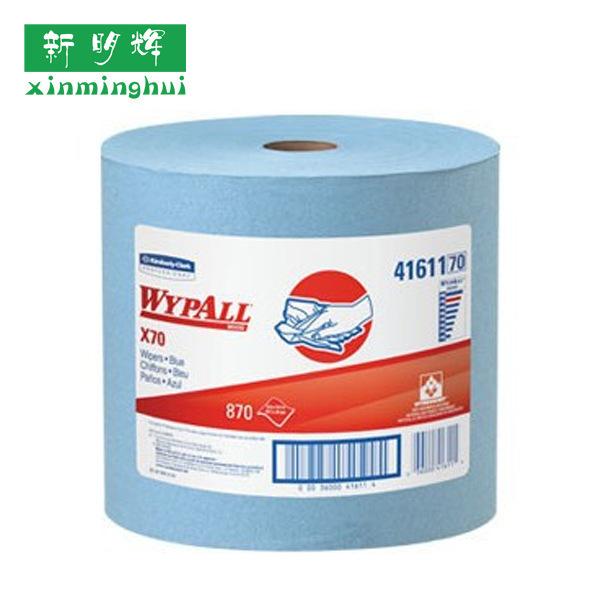 金佰利41611WYPALLx70全能型擦拭布大卷式强力吸油擦拭纸
