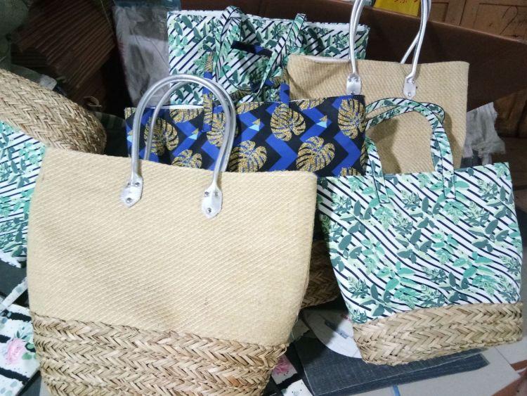 草编 布艺 工艺品包 大方水饺包 量大从优 花型图案格式可选