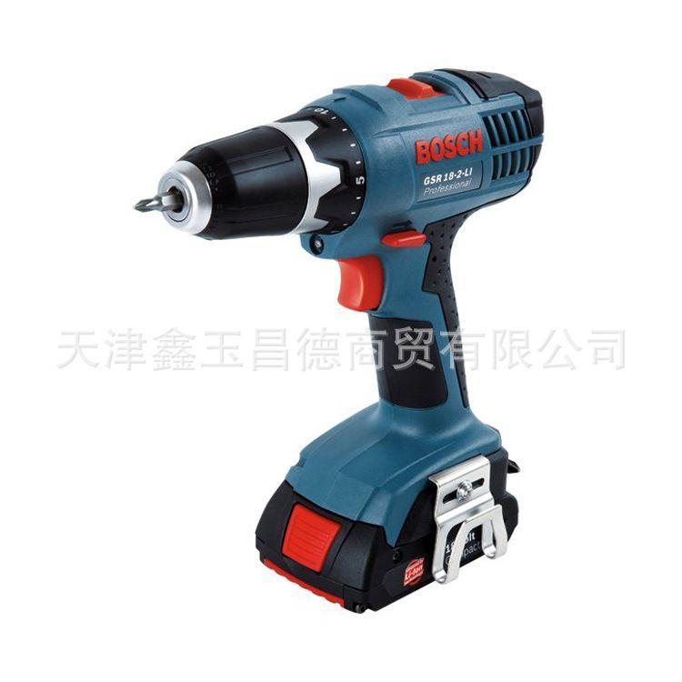 博世电动工具充电式电钻 电动螺丝刀GSR18-2-LI 锂电电动起子机