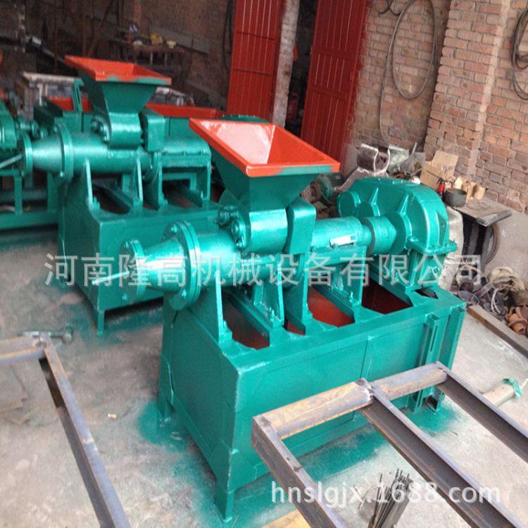 隆高180节能高压煤棒机 全自动木炭机配套设备 140空心煤棒成型机
