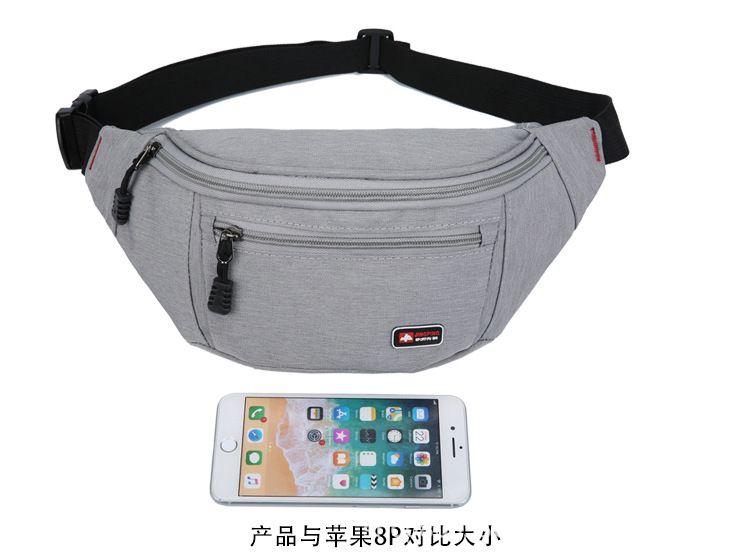 腰包新款热卖 跑步登山时尚休闲腰包 多功能单肩斜跨手机包