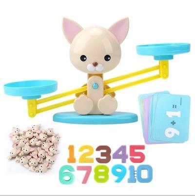跨境 Puppy Up 小狗天平 儿童数学启蒙数字加减益智玩具 现货