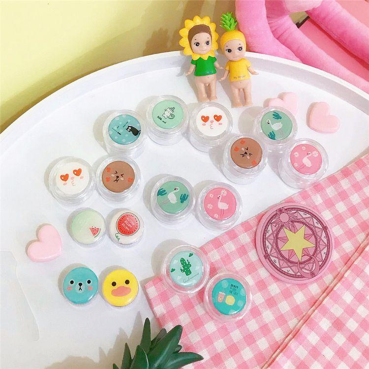 日韩卡通可爱小熊分装瓶化妆品收纳外出旅行便携分装盒液体固体盒