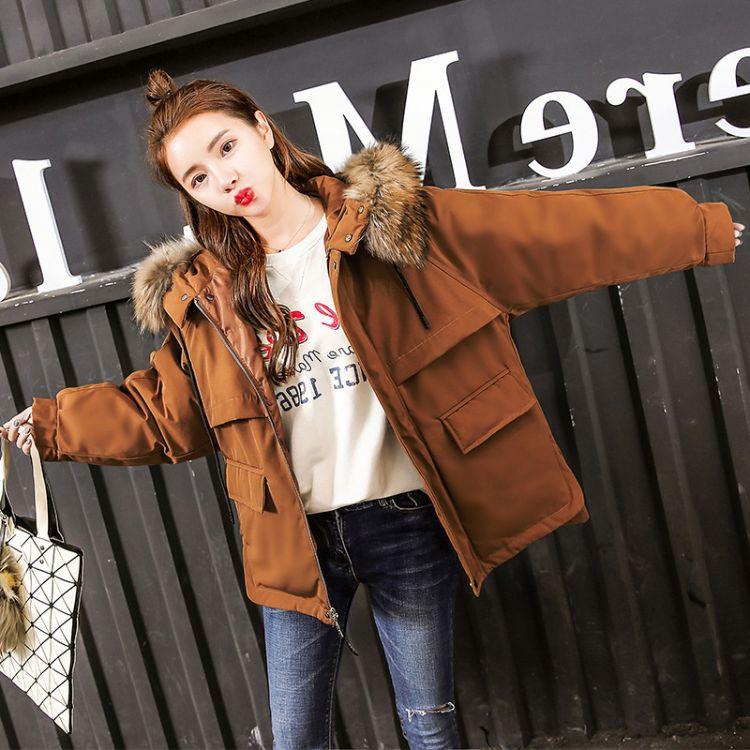 冬季棉衣女2019新款品牌折扣女装宽松学生韩版chic羽绒棉服短款加厚小棉袄外套
