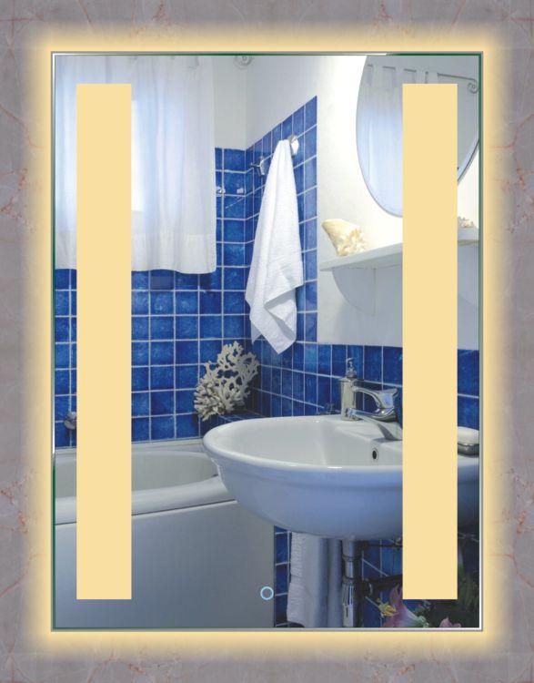 智能LED灯浴室镜灯现代欧式简约化妆台镜灯OL5002无边框卫浴镜灯