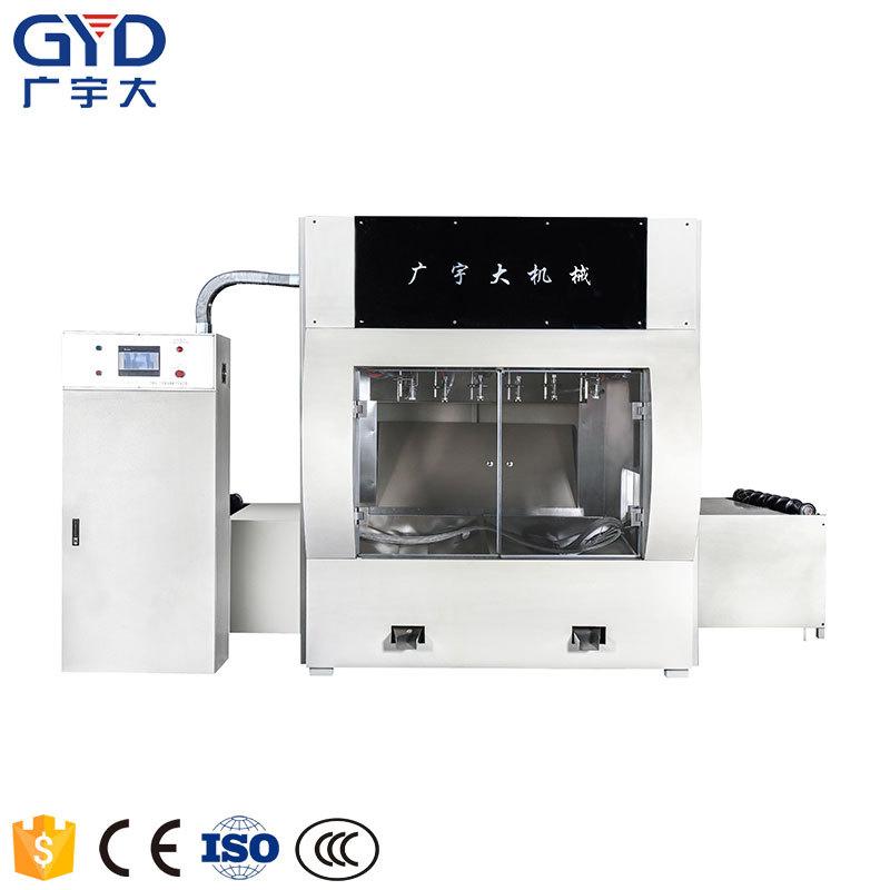 青岛广宇大工艺1300mm硅酸钙板/保温板涂胶机