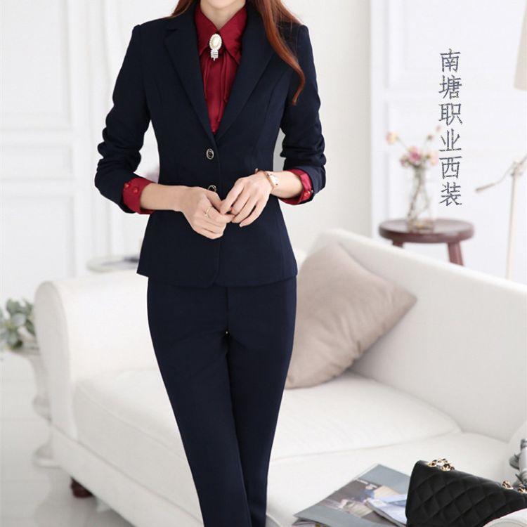 上海供应女式西服丨女款西装丨定做企业西服丨厂家可量身定制