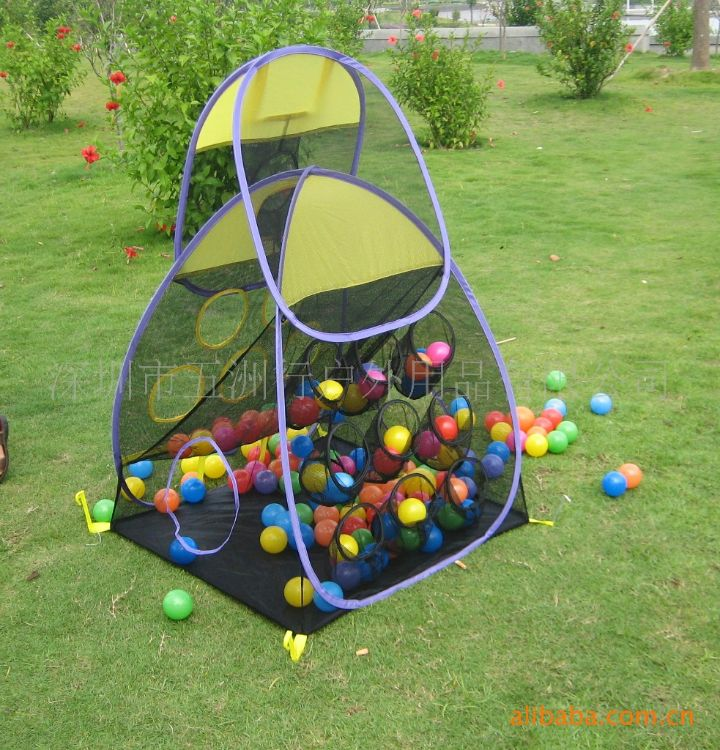 五洲风情儿童帐篷 儿童玩具竞技投球游戏屋