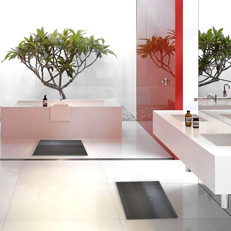 可裁剪pvc脚垫地垫门垫卧室浴室卫浴防滑垫纯色130x45cm