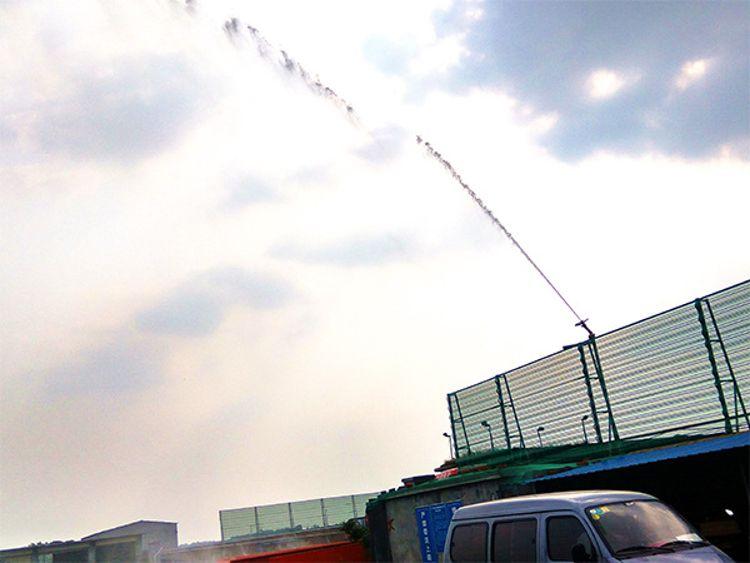 矿用码头降尘旋转除尘喷枪雾化除尘喷枪大射程