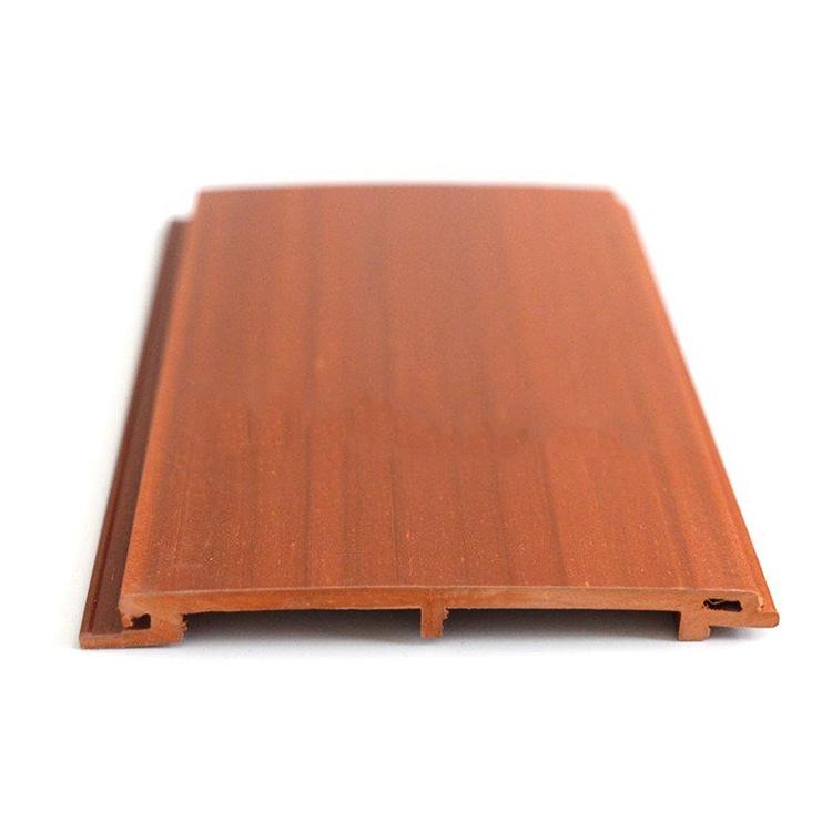 生态木100平面板背景墙护墙板室内免漆无缝卡扣木塑无甲醛生态木吊顶批发