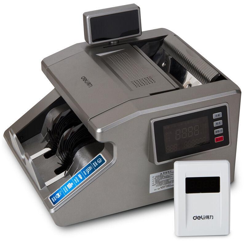 得力3916点钞机全智能B类混点验钞机双屏高端语音点钞机支持新币