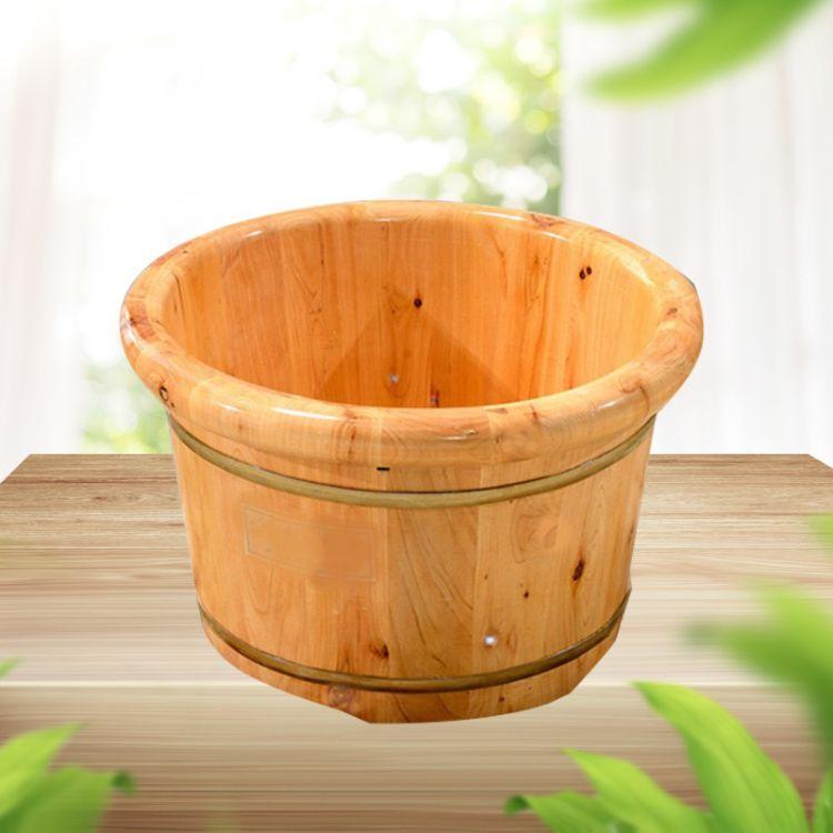 香柏木泡脚足浴洗脚木盆浴桶成人木桶批发实力雄厚