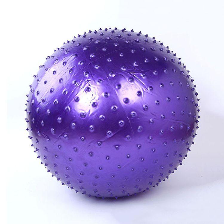 85CM带刺按摩点健身球平衡球舞蹈球玩具球瑜珈球儿童表演一件也发