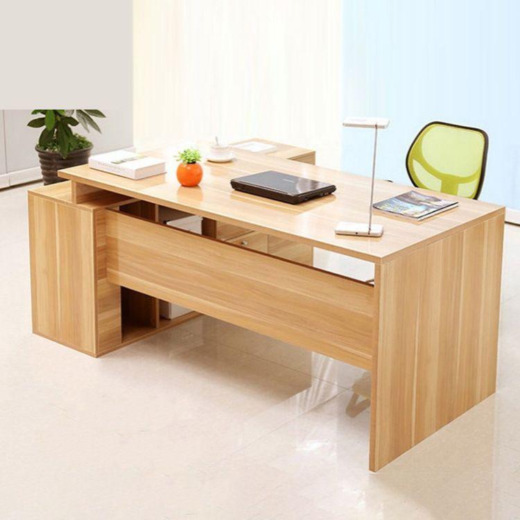 简约主管经理电脑桌时尚现代办公大班台多功能老板桌定制办公家具