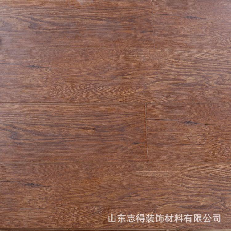 耐磨防水强化复合地板封蜡防水耐磨金刚面地板家用实木复合木地板