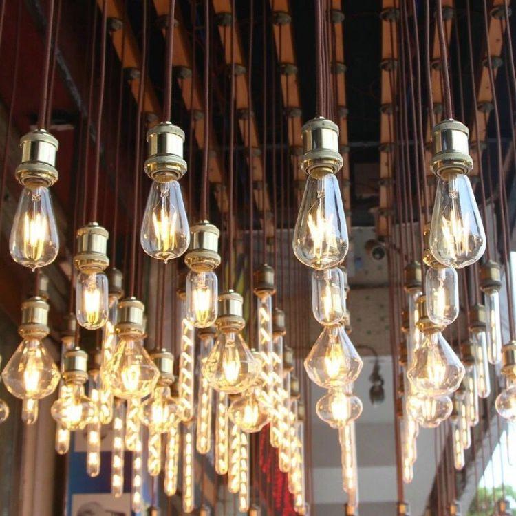 爱迪生灯泡ST64复古怀旧创意个性钨丝装饰光源E27螺口节能led灯泡