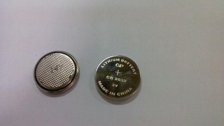 GP超霸 3V CR2032 纽扣电池 锂电池(5粒/卡)