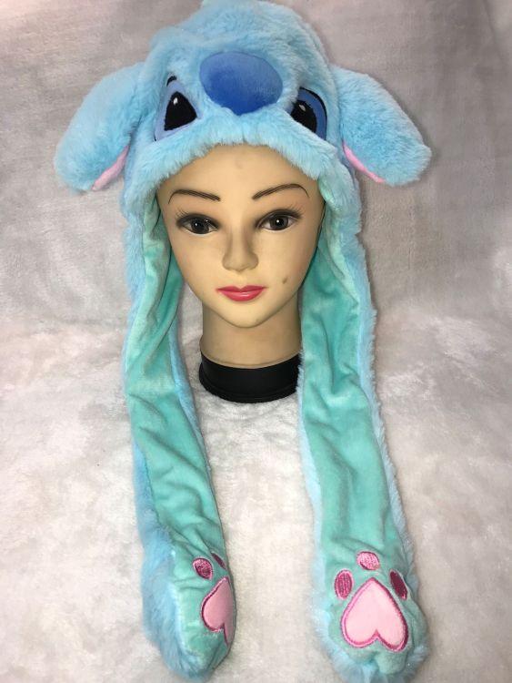 抖音同款女生搞怪耳朵会动的兔子帽子毛绒玩具会动的耳朵抖音帽子