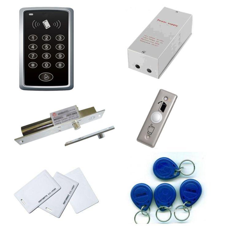 批发零售专业设计整套刷卡门机系统 密码刷卡读卡器