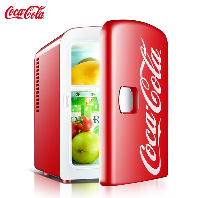 可口可乐车载冰箱 迷你小冰箱 制冷家用宿舍学生冷暖箱