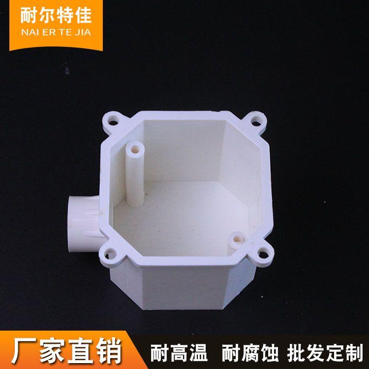 厂家定做PVC86型高深司令箱八角 规格齐全孔预埋灯头盒 支持批发