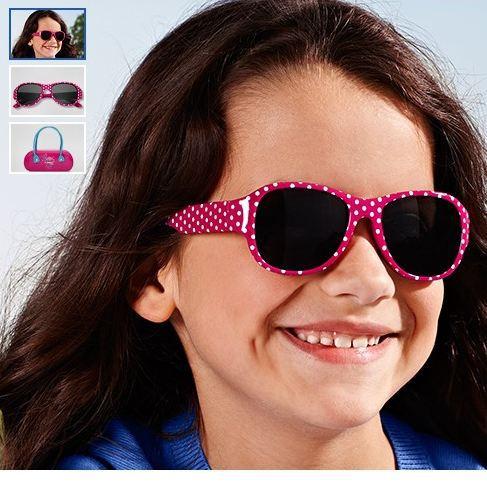 新款外贸原单儿童太阳镜白波点 红色宝宝墨镜出口德国尾货单108