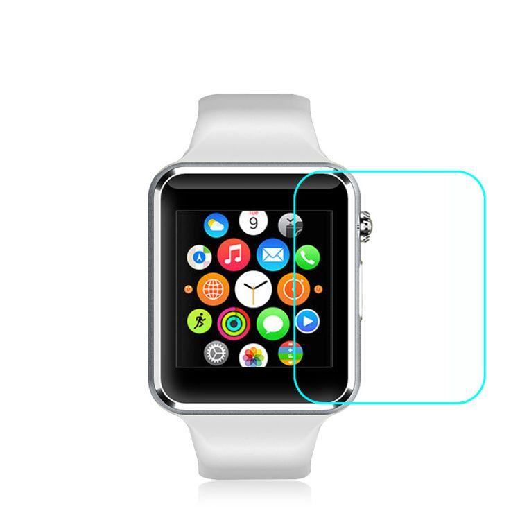 适用于苹果智能手表钢化玻璃膜 Apple watch防指纹高清屏幕保护膜