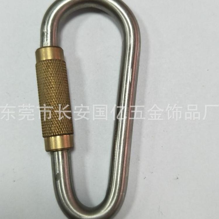 铁质葫芦形快挂钩 五金O型快速连接钩不锈钢码头重型物品卸货索具