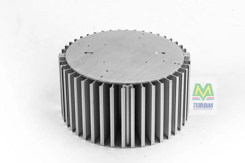 100W散热器LED照明大功率相变散热工矿灯太阳花微槽群散热200*80