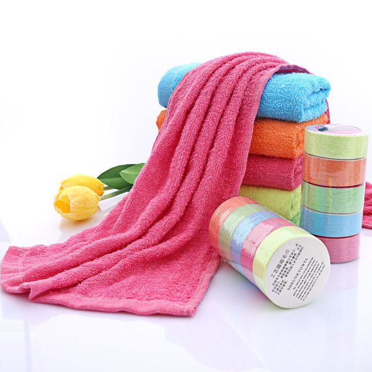 厂家直销旅游纯棉压缩毛巾便携式一次性洗脸毛巾旅行宾馆毛巾批发