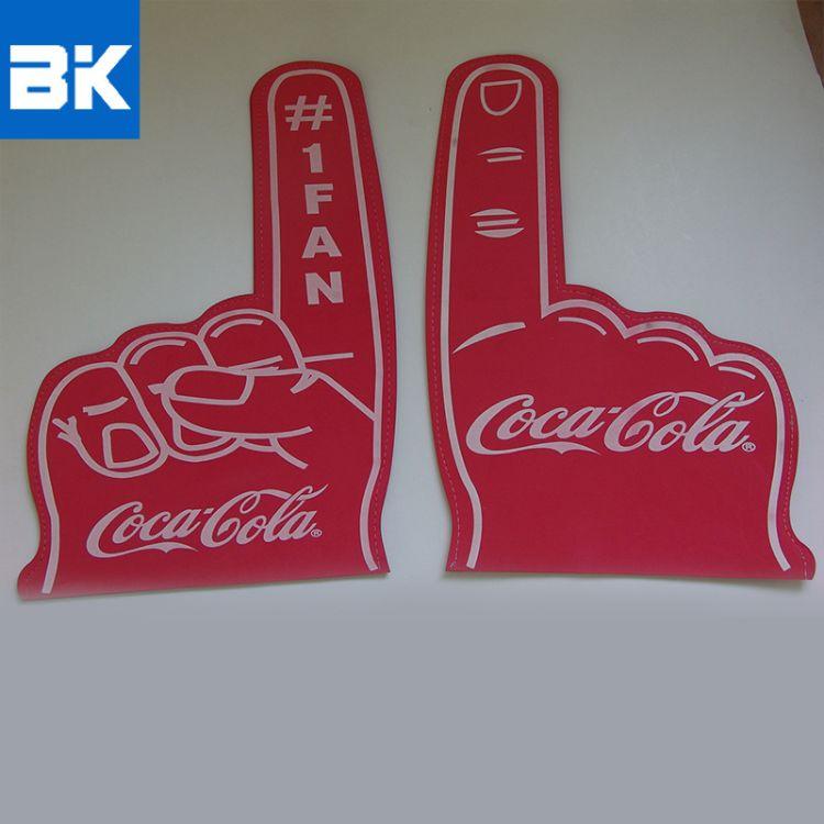 单色EVA啦啦队手套批发 EVA啦啦队喝彩手套 厂家啦啦队手套定制