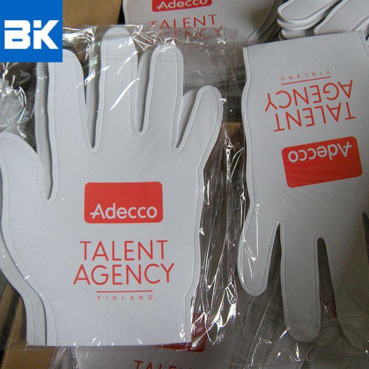 EVA材质啦啦队手套批发 供应印花EVA啦啦队手套 EVA手套涂鸦