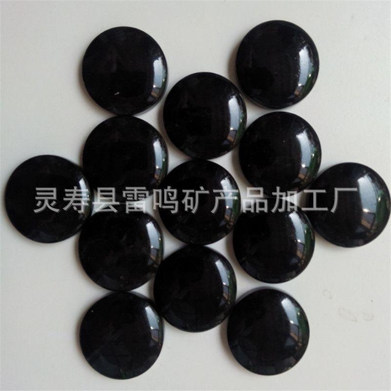 厂家批发棋子锗石片 汗蒸房床垫座垫用锗石片 托玛琳陶瓷片
