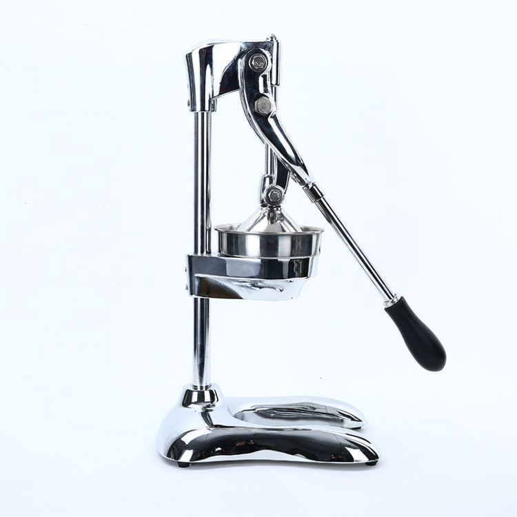压汁机,JUICER,不锈钢原色商用手动榨汁机,不锈钢压榨机