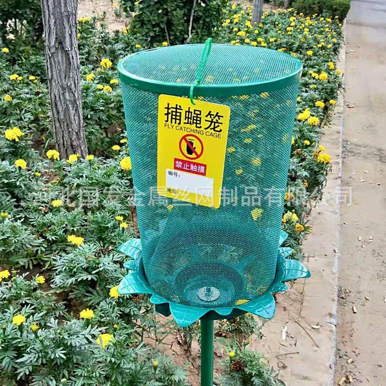 金属喷塑捕蝇笼 专用市政绿色环保捕蝇笼 灭蝇逮蝇能手环保卫生