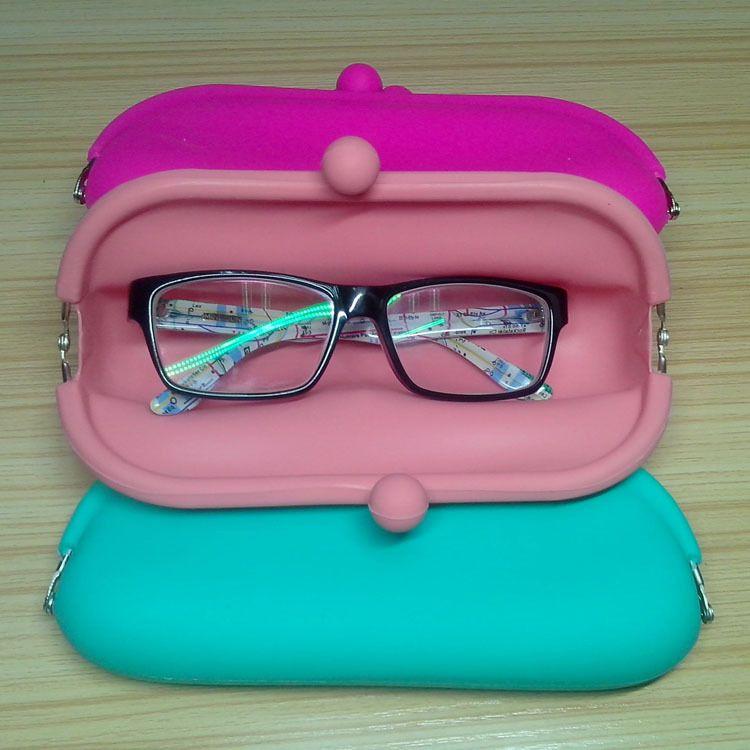 硅胶眼镜零钱包厂家直销韩国可爱迷你零钱包 软面搭扣手拿零钱包