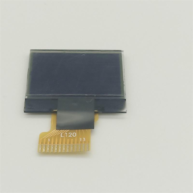 厂家直销现货黑白显示屏L120128*64液晶显示屏