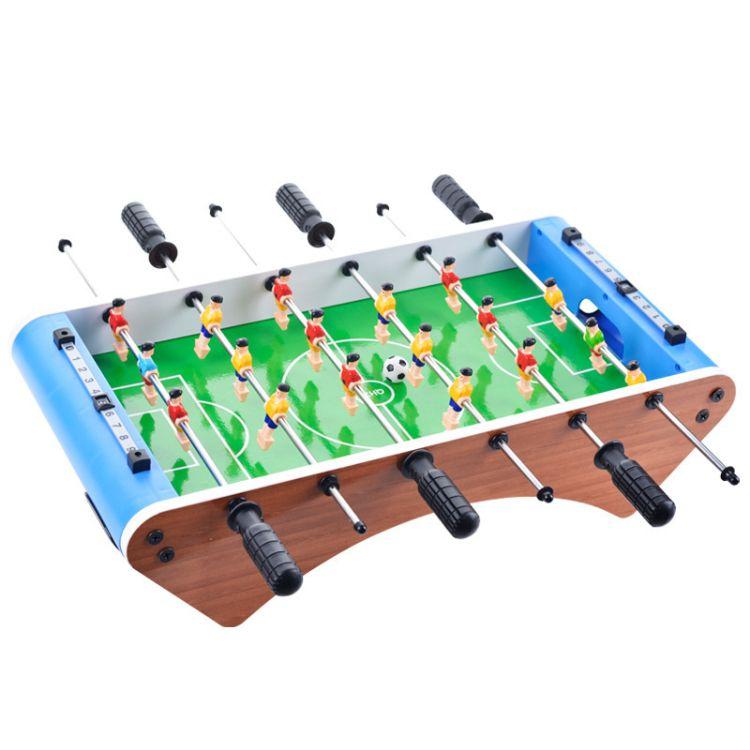 新款大号六杆桌上足球 儿童互动益智桌面玩具 外贸足球体育礼品