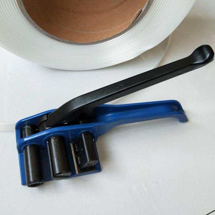 聚酯纤维打包带专用打包机 纤维带拉紧器收紧器 束紧器32mm