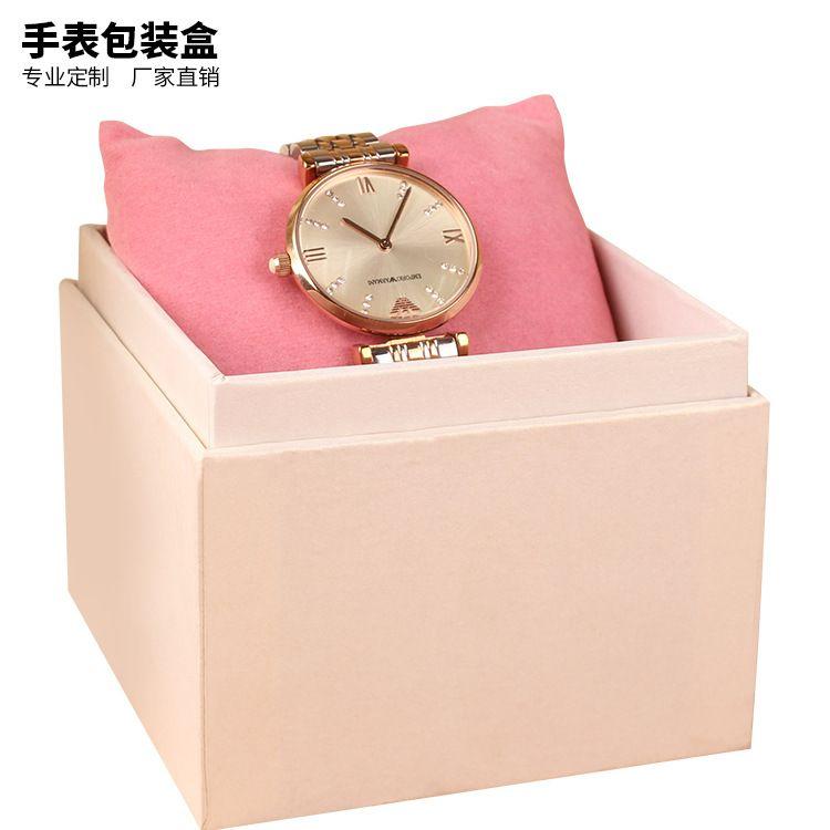 厂家现货供应高档手表盒纸盒 Watch Box订制手表盒包装盒加印LOGO