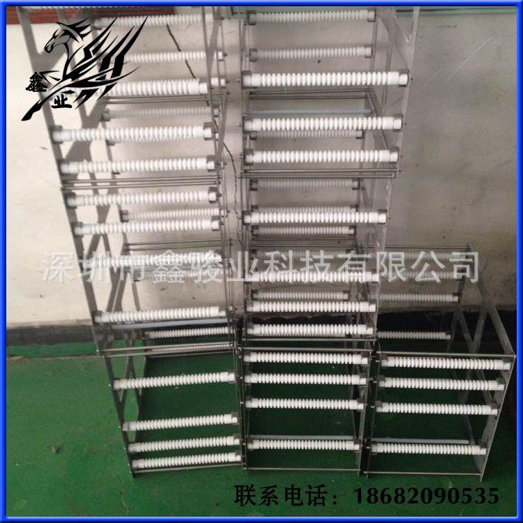 鑫骏业科技-铁氟龙制品 玻璃料架 清洗篮批发 玻璃篮具