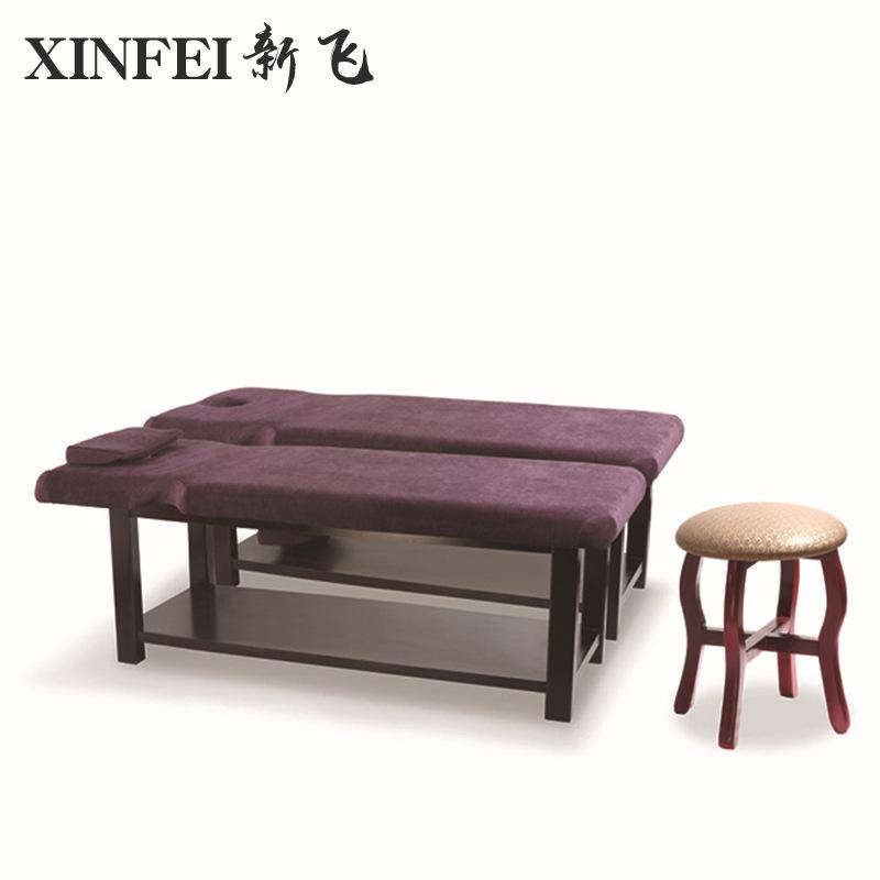 专业生产泰式洗头床 木制美容美体按摩床批发 会所推拿养生床