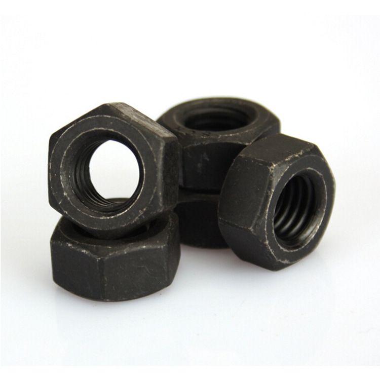 厂家直销 高强度六角螺母 12.9级六角螺母 国标细牙六角螺母
